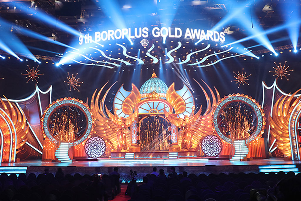 9 GLORIOUS YEARS OF GOLD AWARDS